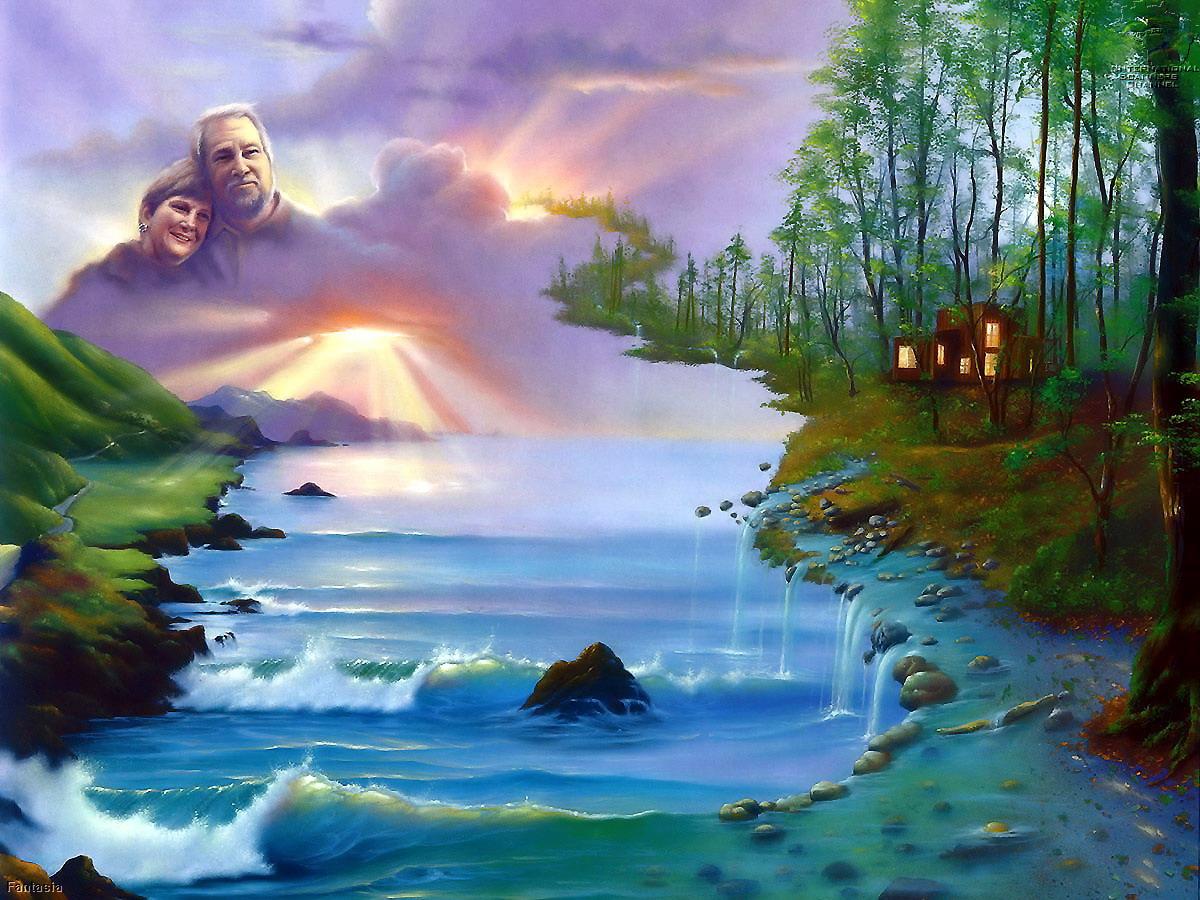 Как вода сделала природу красивой сказка