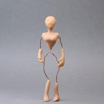 Куклы своими руками из полимерной глины авторские
