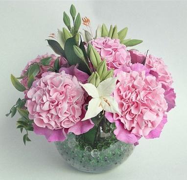 Мастер-классы по лепке цветов из полимерной глины 7